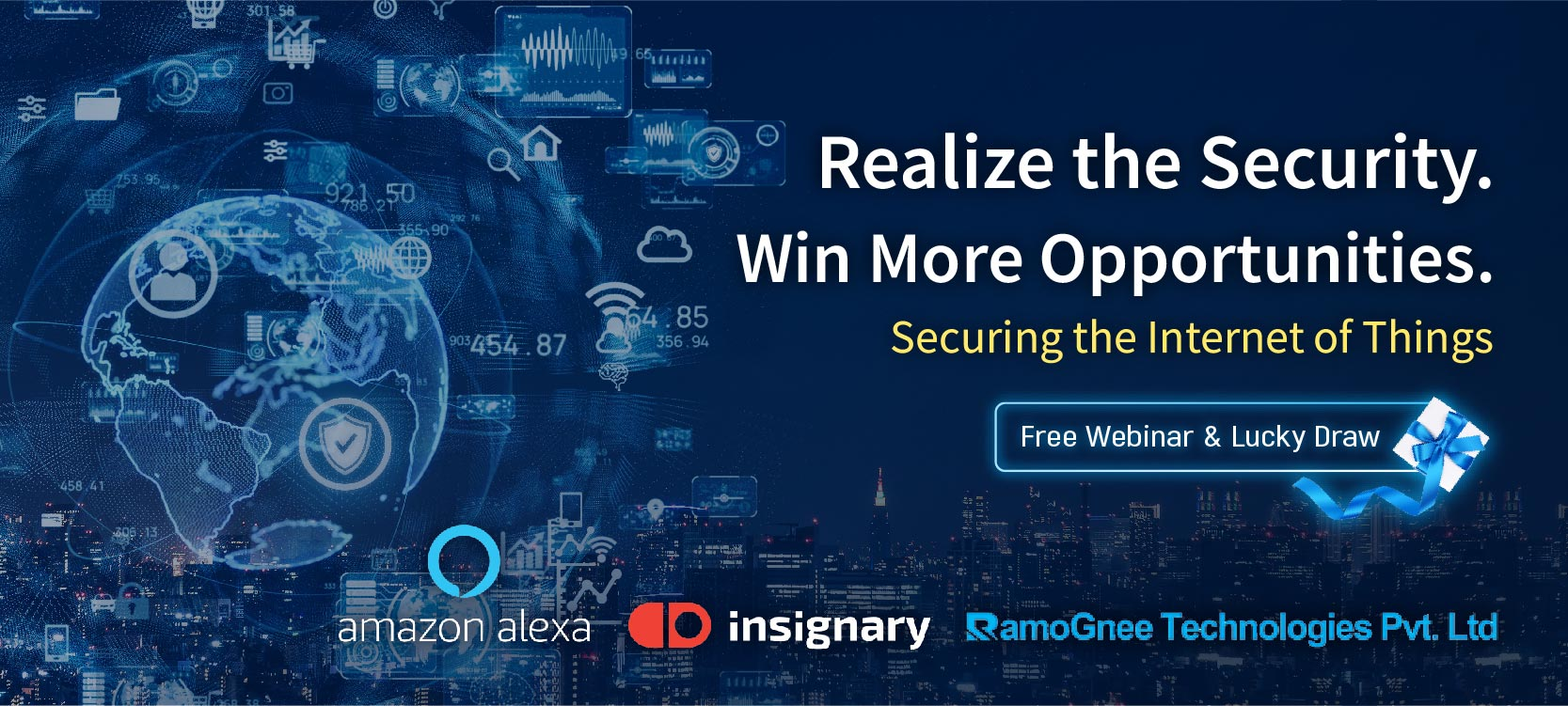 Free Webinar & Lucky Draw : Realize the Security. Win More Opportunities. - Onward Security